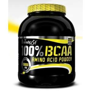 100% BCAA 400 gr