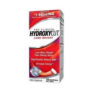 HYDROXYCUT PRO CLINICAL 72...