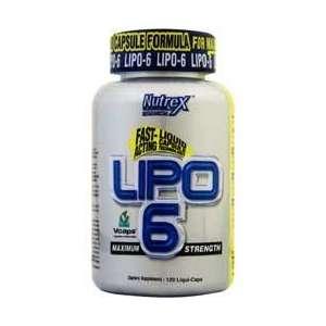 LIPO 6 120 cápsulas