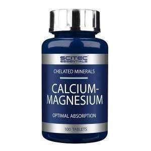 CALCIUM MAGNESIUM 100 tabletas