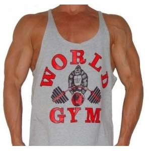 CAMISETA TIRANTES WORLD GYM...